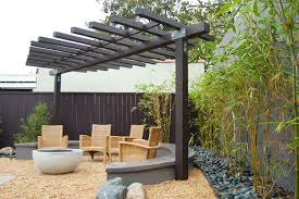 Asian Patio Design Larchmont