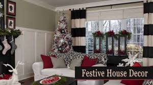 pictures of christmas decorations in homes christmas decorations for every room in the house youtube