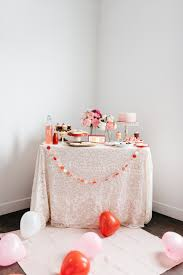 Valentine S Day Tablecloth by Family Valentines Day Party Cutest Ideas Sandy A La Mode