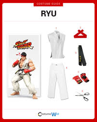dress like ryu costume halloween and cosplay guides