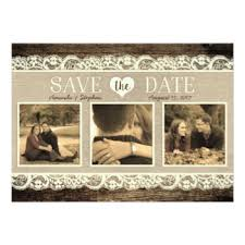 Rustic Save The Date Cards Save The Date Invitations U0026 Announcements Zazzle