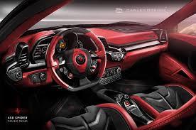Ferrari 458 Interior - 458 spider concept by carlex design studio