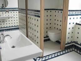 Salle De Bain Blanche Et Bleu by Indogate Com Salle De Bain Grande Dimension