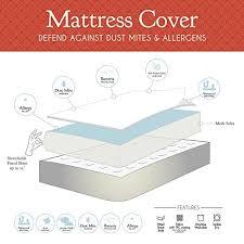 queen size instyle furnishing premium 100 waterproof mattress