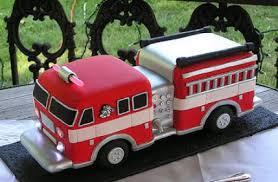 firetruck cakes free cake info truck birthday cakes