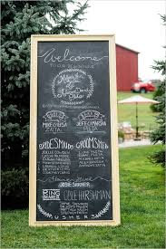 chalkboard wedding program 50 awesome wedding signs you ll deer pearl flowers part 2