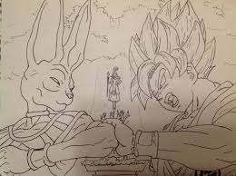 dbz drawings dragon ball battle gods shade neru97