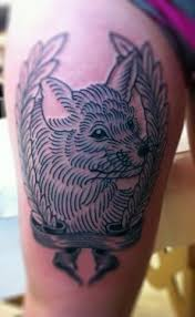 20 best fox tattoo images on pinterest bird tattoos drawings