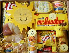 cheer up care package box of to cheer someone s day up college care packages