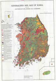 Korea Map Asia by The Soil Maps Of Asia Display Maps