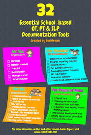 32 essential based ot pt u0026 slp documentation tools