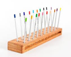 pencil holder desk caddy wooden organizer desk organizer