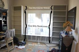 Built In Bookcase Designs Home Design Ideas Billy Bookcase Built In Fireplace Look With