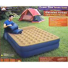ozark trail queen elevated air bed walmart com