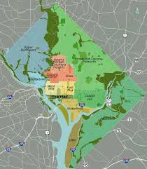 Zip Code Map Washington by Proptax Info Washington D C United States