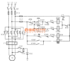three phase motor braking circuit 2 basic circuit circuit