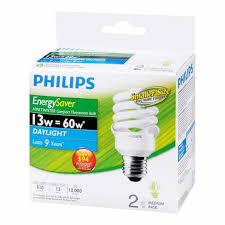 philips minitwister 13w cfl bulb daylight 2 pack london drugs
