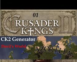 Crusader Kings 2 Map Generated Crusader Kings 2 Map And History Devil U0027s World 01 Youtube