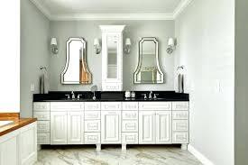 Bathroom Countertop Storage Bathroom Countertop Cabinet White Vanity With Black