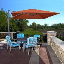 Big Umbrella For Patio Sunbrella Fabric Patio Umbrellas Patio Furniture The Home Depot