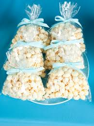 popcorn favor bags simply sweet popcorn wedding favor bags with blue ribbon