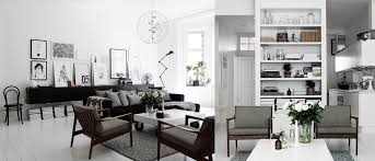 black and white home interior scandinavian living room design ideas inspiration