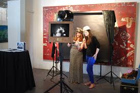 photo booth setup fotio vintage open air photo booth rental in chicago il