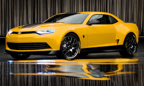 revealed bumblebee as 2014 camaro concept for transformers 4