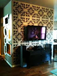 remodelaholic decorative stencils wall art guest post