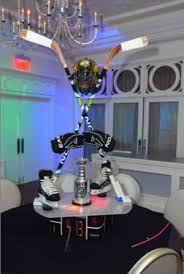 themed centerpieces sports themed weddings sports themed wedding reception centerpieces