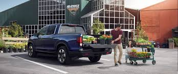 honda truck tailgate 2017 honda ridgeline cargo capacity and storage deliver ample room