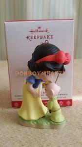 hallmark 2017 snow white and dopey disney precious moments