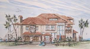 Home Build Plans Naples Fla Building House Plans Blueprints Coastal Home Plan