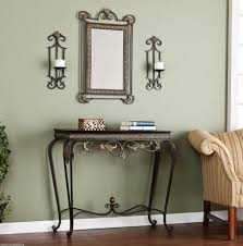 entrance table and mirror table and mirror set entryway console table mirror set intended for