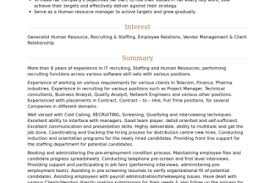 Technical Recruiter Sample Resume by Recruiter Resume Recruiter Resume Sample Technical Recruiter
