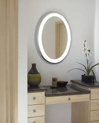 illuminated bathroom mirror for stylish interior bathroom