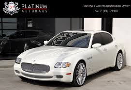 used maserati granturismo for sale 2008 maserati quattroporte executive gt automatic stock 5954 for