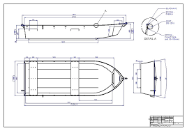 fishing steel boat free fishing boat plans autocad step iges