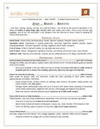 pastry chef resume sample sample resume for pastry chef sample