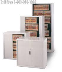 Tambour Door Cabinet Tambour Door Storage Cabinets Are Better Than Lateral Cabinets