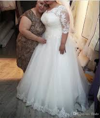 cheap plus size wedding dress discount vintage beaded lace plus size wedding dresses with half