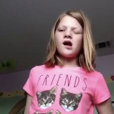 Meme Girl Face - 10 year old girl s flirtatious vine has become the new meme for