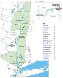 Hudson Valley New York Map by Hudson River U0026 Tributaries Region Fish Advisories