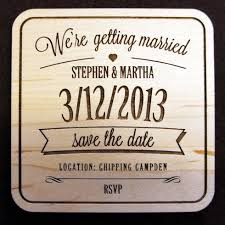 save the date coasters camdeco wooden wedding save the date coasters