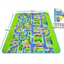 aliexpress com buy city road carpets for children play mat for