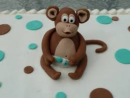 monkey cake topper monkey baby shower cake topper c bertha fashion monkey