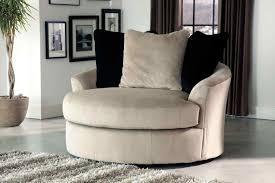 chair contemporary cuddler swivel sofa roselawnlutheran round