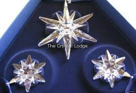 swarovski 2005 ornament set of 3 842602 the