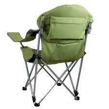 Coleman Reclining Camp Chair Reclining Camp Chair Sage Green Picnic Time 803 00 130