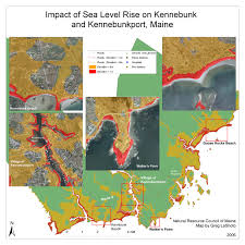 Map Of Maine Cities New Sea Level Rise Forecast Is Alarming Here Are 10 Maps Showing
